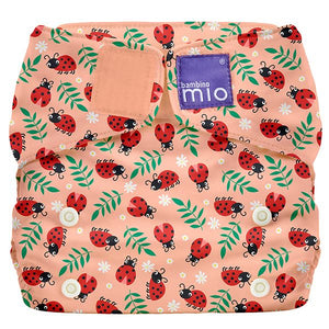 Bambino Mio Miosolo All in One Loveable Ladybug print The Cloth Nappy Company Malta