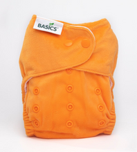 Load image into Gallery viewer, The Cloth Nappy Company Bambooty Basics AI2 reusable nappies apricot