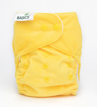 Load image into Gallery viewer, The Cloth Nappy Company Bambooty Basics AI2 reusable nappies lemon