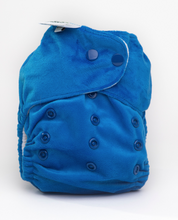 Load image into Gallery viewer, The Cloth Nappy Company Bambooty Basics AI2 reusable nappies bondi blue