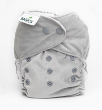 Load image into Gallery viewer, The Cloth Nappy Company Bambooty Basics AI2 reusable nappies elephant grey
