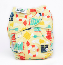 Load image into Gallery viewer, The Cloth Nappy Company Bambooty Basics AI2 reusable nappies by the sea
