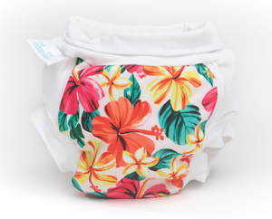 The Cloth Nappy Company Malta Bambooty No Nappies Hibiscus