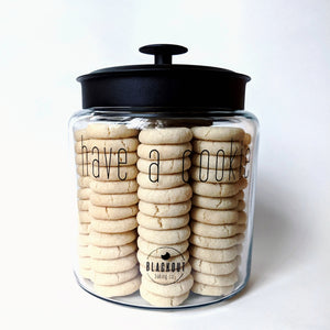 FULL Blackout Baking Co. Cookie Jar
