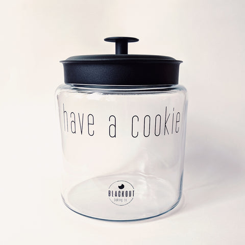 Blackout Baking Co. Cookie Jar