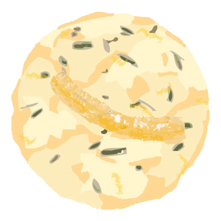 Lemon Rosemary Elderflower Cookie - Available exclusively at Tulipia Floral Design