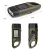 Hand Operated Solar Rechargeable Flashlight Emergency LED Light - shinyshinyday