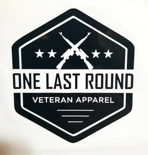 OLR Hex Decal - One Last Round Apparel