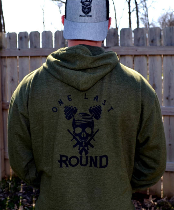 Iron Skull Hoodie - One Last Round Apparel