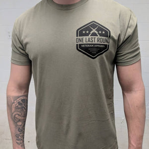 OLR Hex Left Chest - One Last Round Apparel