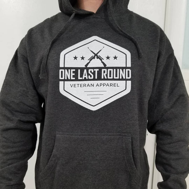 OLR Hex Hoodie (Charcoal) - One Last Round Apparel
