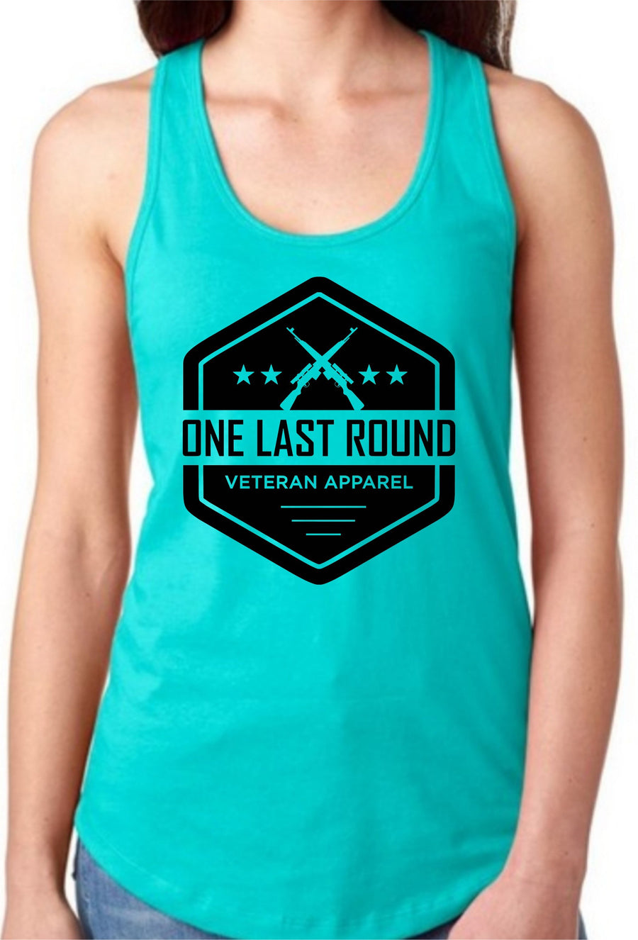 OLR Hex Racerback - One Last Round Apparel