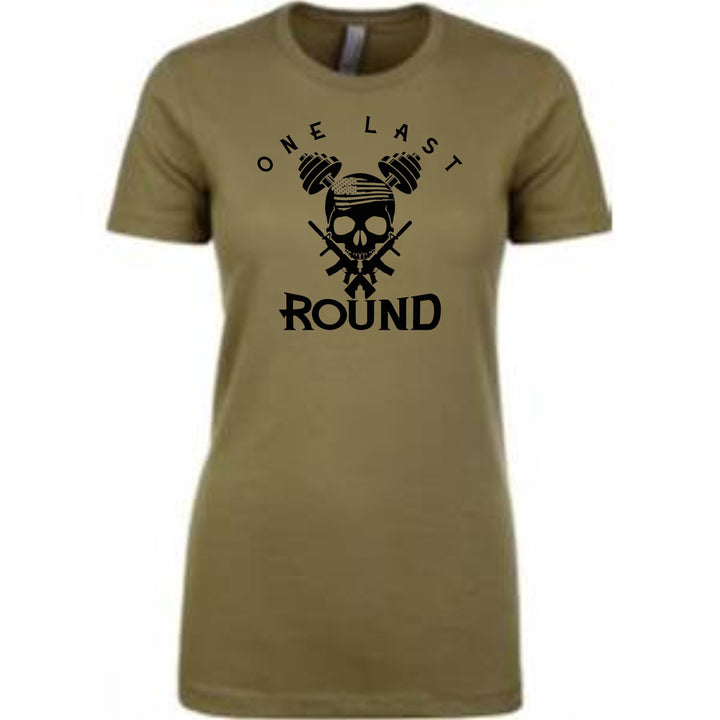 Iron Skull Crew Neck (OD Green) - One Last Round