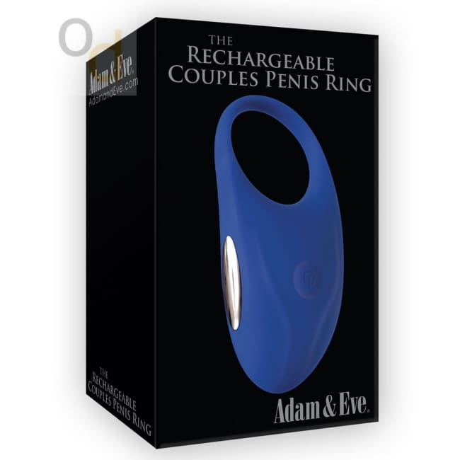 Adam & Eve the Rechargeable Couples Penis Ring - Cock Rings