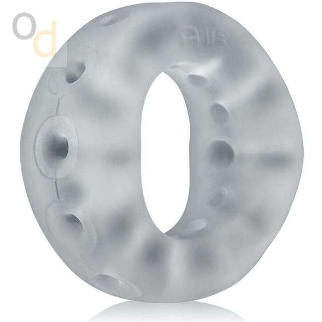 Air Super-Lite Airflow Cockring - Clear Ice - Cock Rings