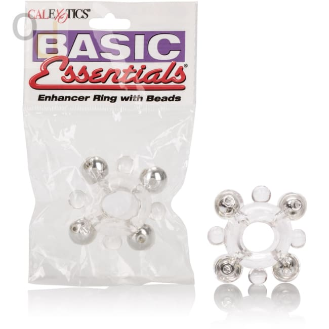 Basic Enhancer Ring With Bead - Cock Rings