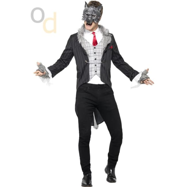 Big Bad Wolf Costume Deluxe - Costumes
