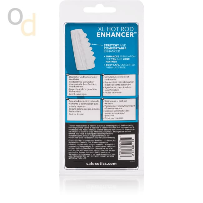 Bigger and Better Hotrod Enhancer - Clear - Sleeves