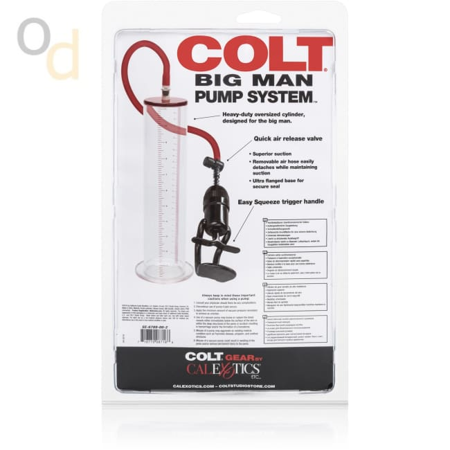 Colt Big Man Pump System - Penis Pumps