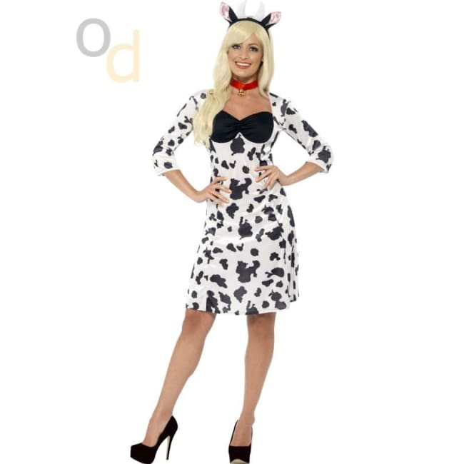 Cow Costume with Dress - Costumes
