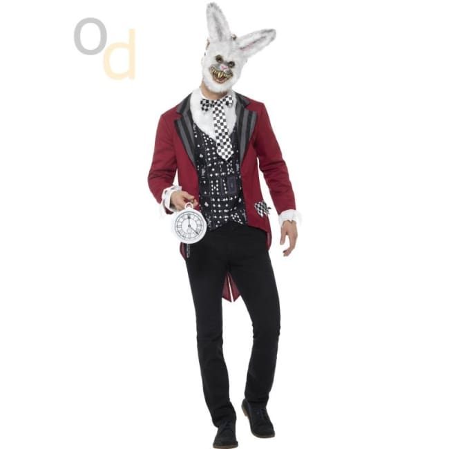 Deluxe White Rabbit Costume - Costumes