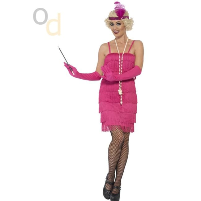 Flapper Costume with Short Dress - Costumes