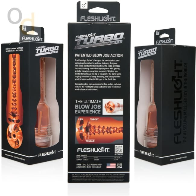 Fleshlight Turbo Thrust - Copper - Masturbator