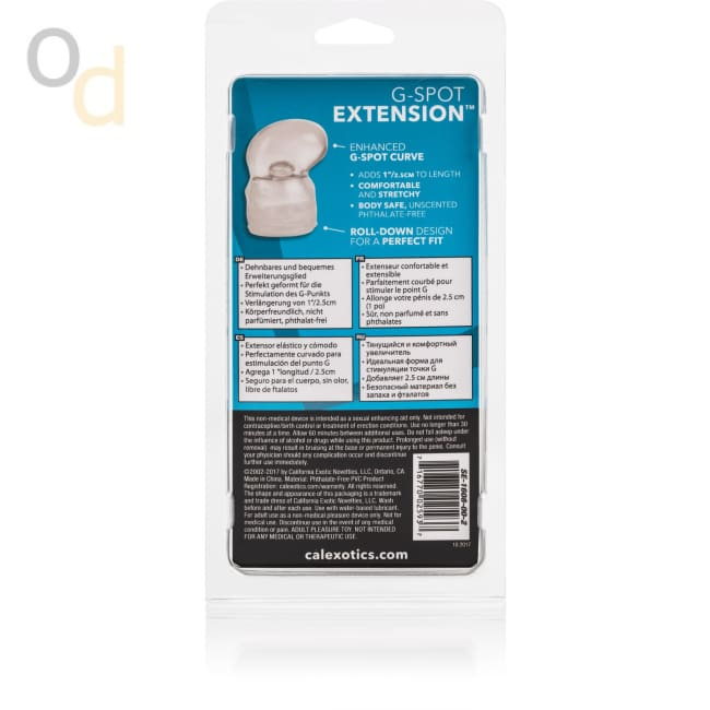 G-Spot Extension - Clear - Sleeves