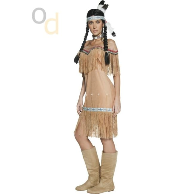 Native American Inspired Lady Costume - Costumes