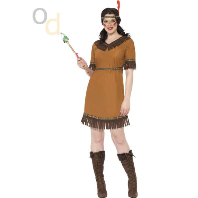 Native American Inspired Maiden Costume - Costumes