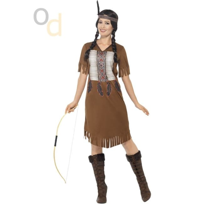 Native American Inspired Warrior Princess Costume - Costumes