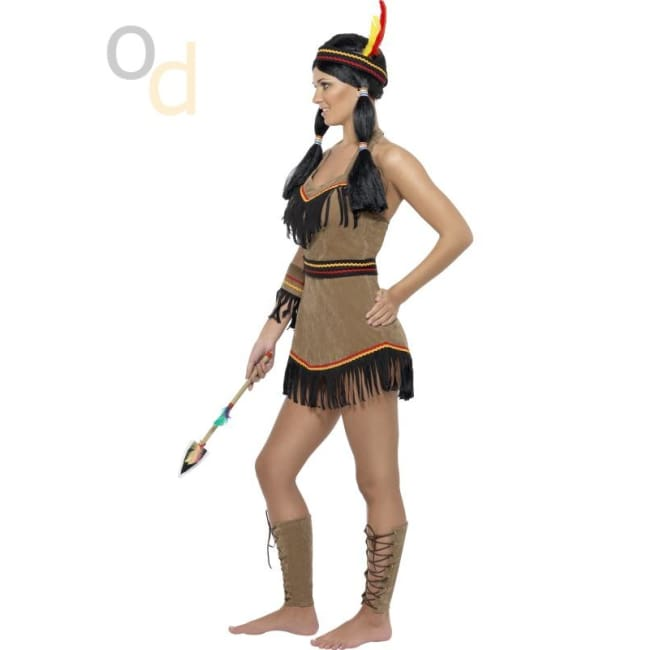 Native American Inspired Woman Costume - Costumes