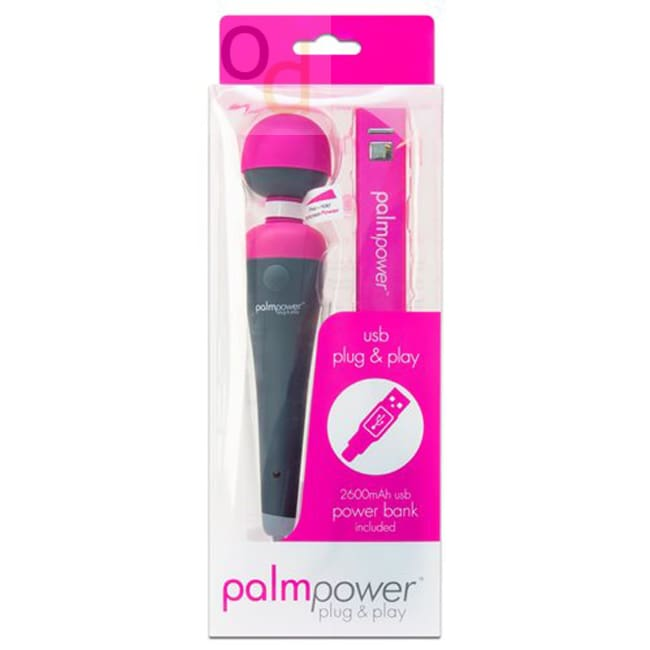 Palmpower - Plug & Play Massager - Vibrator