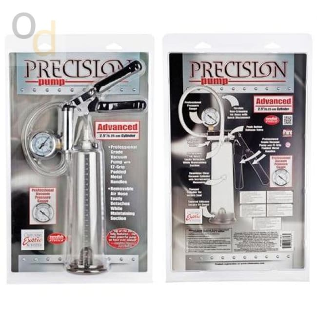 Precision Pump Advance 2 - Clear - Penis Pumps
