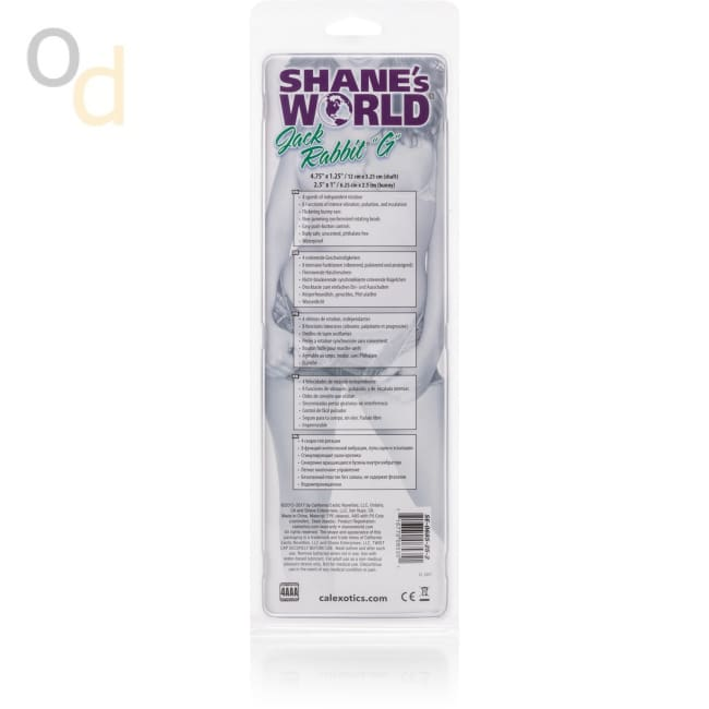 Shanes World Jack Rabbit G - Purple - Vibrator