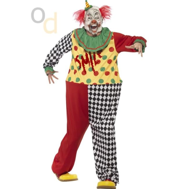 Sinister Clown Costume - Costumes