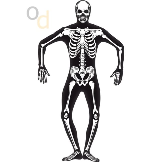 Skeleton Second Skin Costume - Costumes