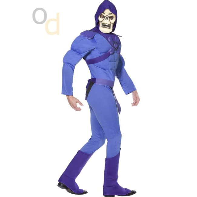 Skeletor Muscle Costume - Costumes