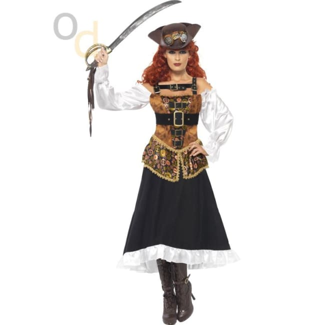 Steam Punk Pirate Wench Costume - Costumes