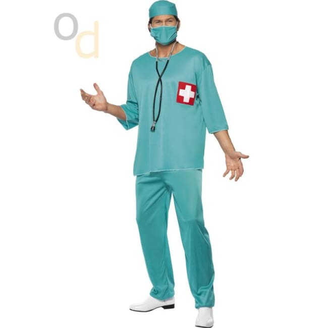 Surgeon Green Costume - Costumes