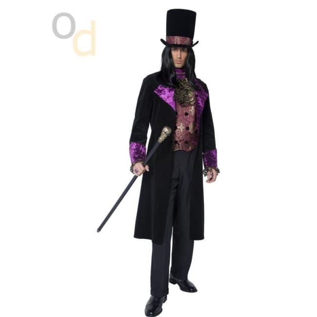 The Gothic Count Costume - Costumes
