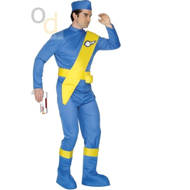 Thunderbirds Virgil Costume - Costumes