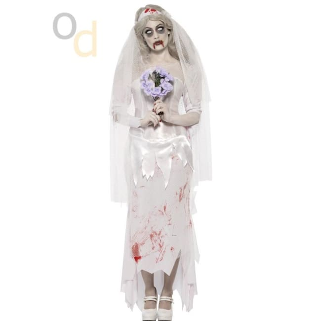 Till Death Do Us Part Zombie Bride Costume - Costumes