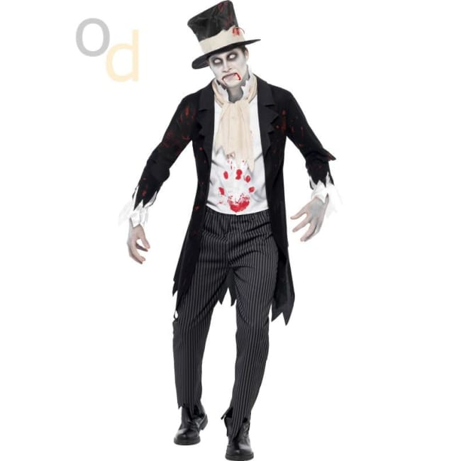 Till Death Do Us Part Zombie Groom Costume - Costumes