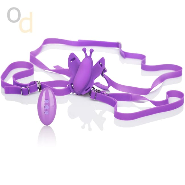Venus Butterfly Silicone Remote Wireless Micro Butterfly - Vibrator