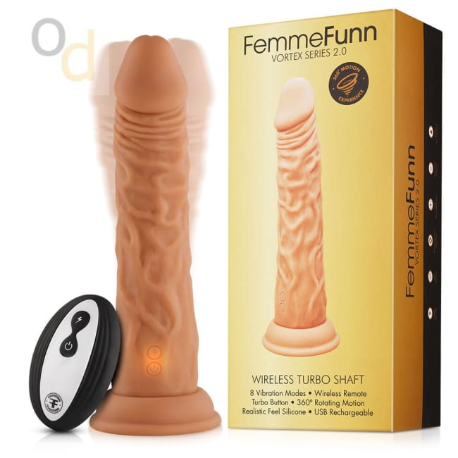 Wireless Turbo Shaft 2.0 - Nude - Vibrator