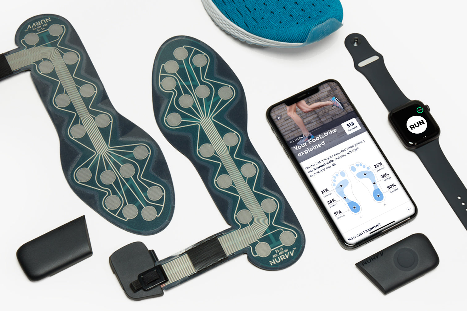 NURVV Run Smart Insoles