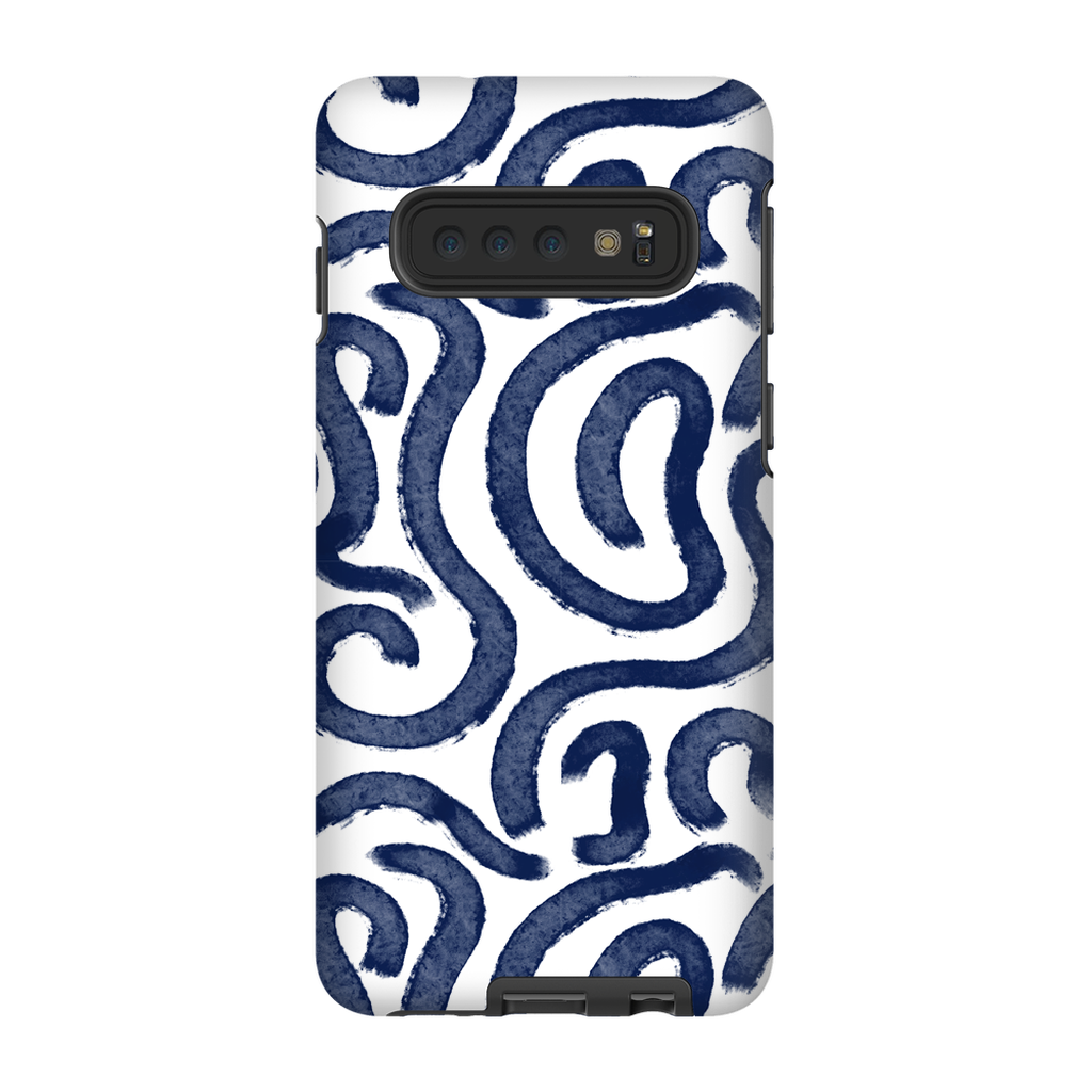 Spiral Blue Phone Case