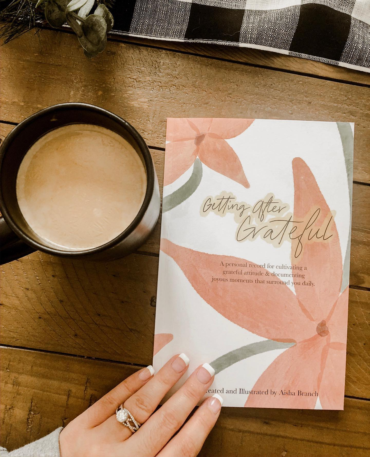 Getting After Grateful Daily Journal - Aisha Branch Studio Shop
