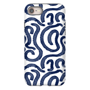 Open image in slideshow, Spiral Blue Phone Case